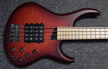 MTD Kingston Super-4, Dr. Brown's Burst with Maple Fingerboard