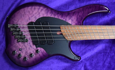 Dingwall Combustion (5-String), Ultra Violet / Pau Ferro / 3 Pickups *In Stock!