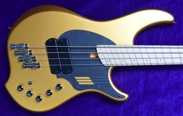 Dingwall NG-2 (4), Matte Gold Metallic / Maple *IN STOCK!