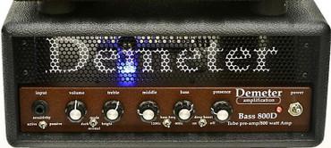 Demeter VTB-800D Amp In Tolex-Covered Wood Case