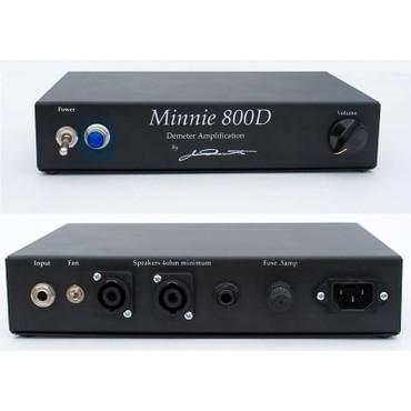 Demeter Minnie 800D Bass Power Amplifier