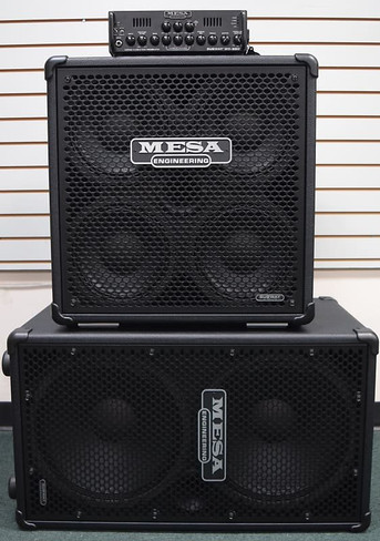 Mesa Boogie Subway Stack WD800 with 2x15 and 4x10 Cab,