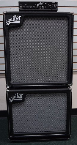 Aguilar AG 700 Stack with SL-115 and SL-410 Cabs, New-In-Box *NOT Pre-Owned, FREE Carry Bag