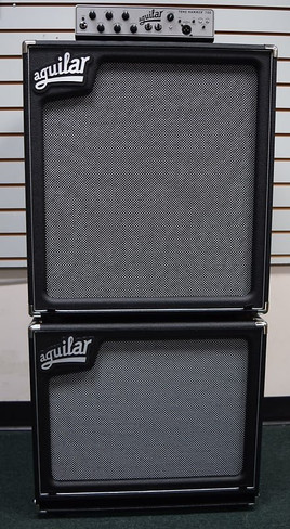 Aguilar STACK: TH-700 + SL-115 + SL-410 Cab + Carry Bag