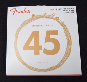 Fender Phosphor Bronze Acoustic Bass Strings, Long scale 45-100