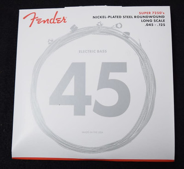 Fender Nickel Plated Roundwound Bass Strings (5-String), 45-125 Long Scale