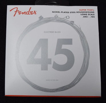 Fender Nickel Plated Roundwound Bass Strings, 45-105 Long Scale
