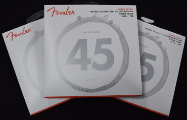 Fender Nickel Plated Roundwound Bass Strings, 45-105 Long Scale ***3-Pack with FREE SHIPPING!