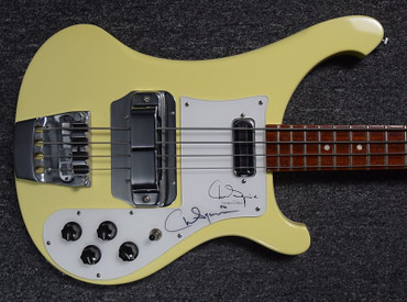 Rickenbacker 4001CS LTD Chris Squire Signature Model ***AUTOGRAPHED BY CHRIS SQUIRE !