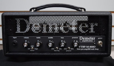 Demeter VTBP-MJ-800D Bass Amp, Hand Wired (USA) with All Tube Preamp and Jensen Transformer