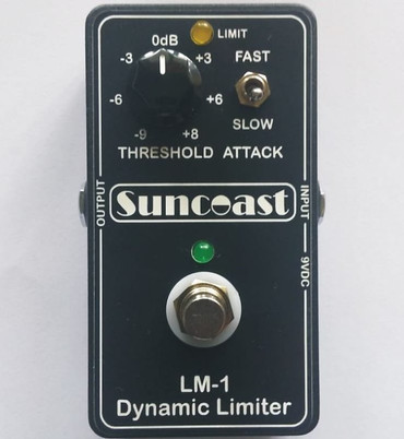 Suncoast LM-1 Dynamic Limiter for Bass or Guitar *Designed with Billy Sheehan