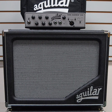 Aguilar STACK: TH-500 Amp + SL 112 Cab + Amp Carry Bag *Package Deal with FREE Shipping!