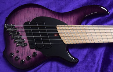 Dingwall Combustion (6-String), Ultra Violet / Maple  /  3 Pickups *In Stock!