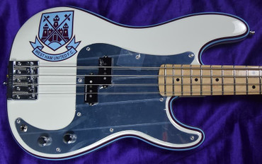 Fender Steve Harris Signature P-Bass, Olympic White / Maple