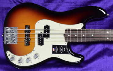Fender American Ultra Precision Bass, Ultra Burst w/ Rosewood