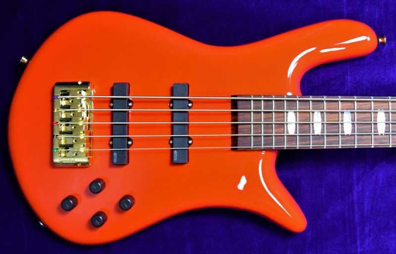 Spector Euro 5 Classic, Red Gloss with Rosewood Fingerboard