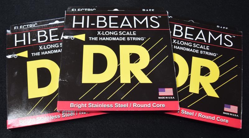 DR Hi-Beams (4 String) X-Long, 45-105 *3 Pack Special, FREE Shipping!