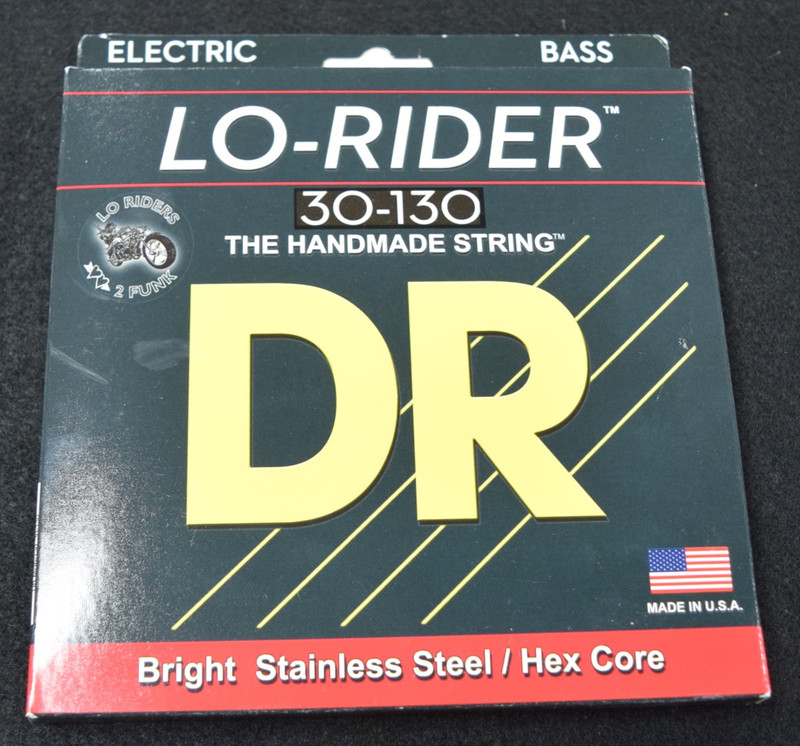 DR Lo-Rider (6 String) Bass Strings, 30-130