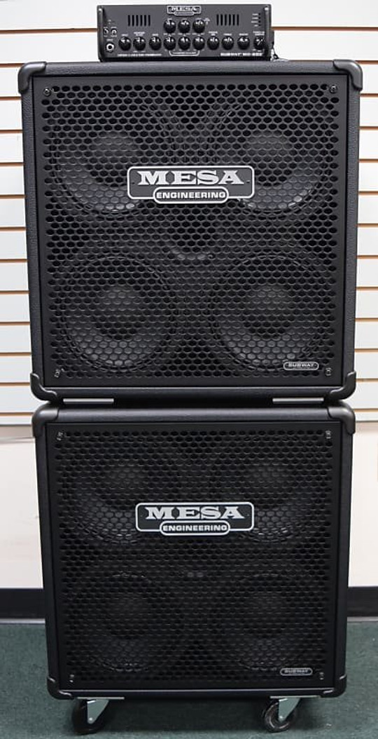 Mesa Boogie WD-800 Amp Stack with 2x 410 Cabs