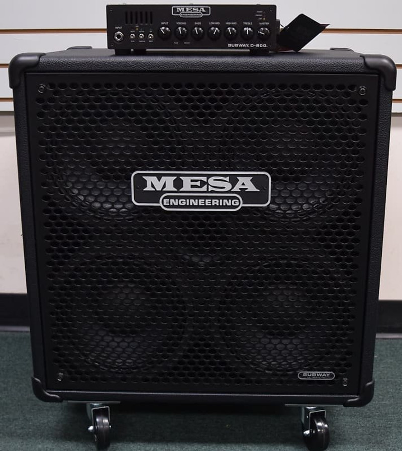 Mesa Boogie Subway Stack D-800 with 4x10 Cab *On Order, ETA June 2022