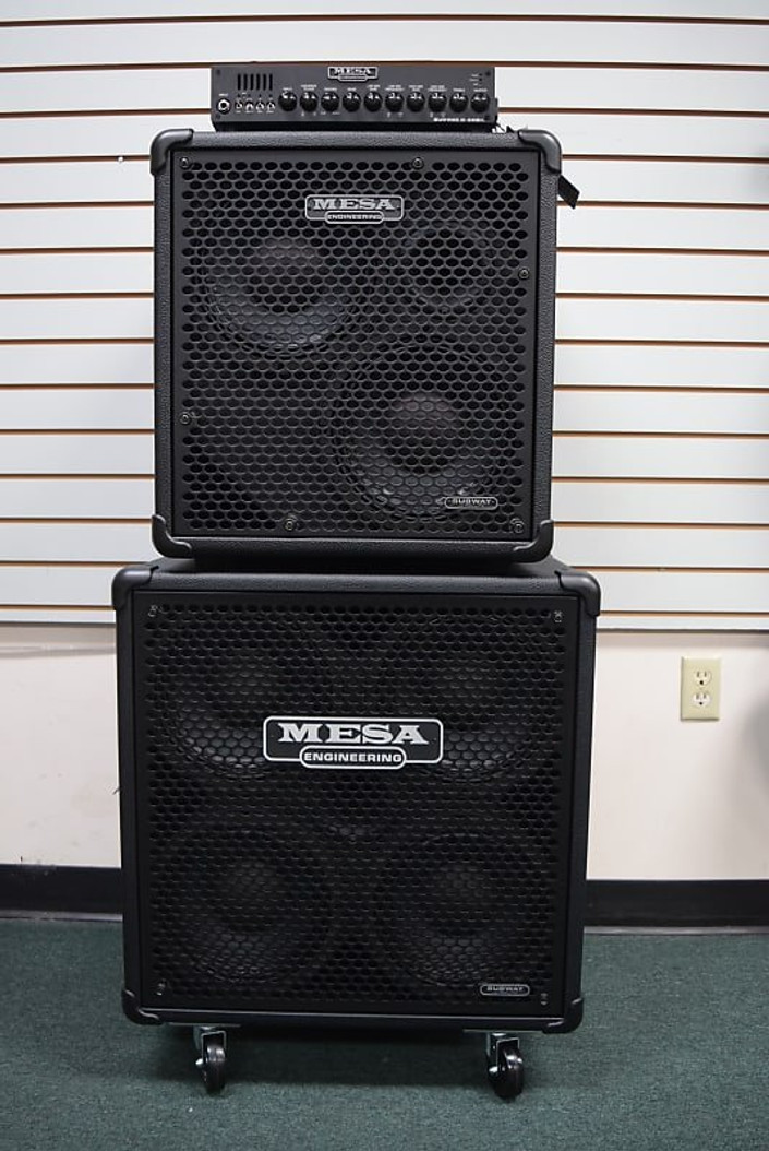 Mesa Boogie Subway D-800+ (PLUS) with 4x10 and 2x10 Cabs *On Order, ETA June 2022