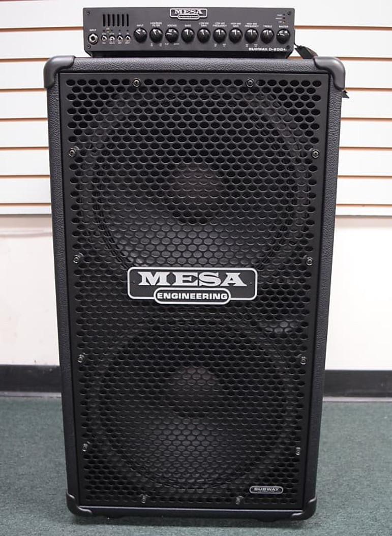 Mesa Boogie Subway D-800+ (PLUS) with 2x15 Cab *On Order, ETA March 2022