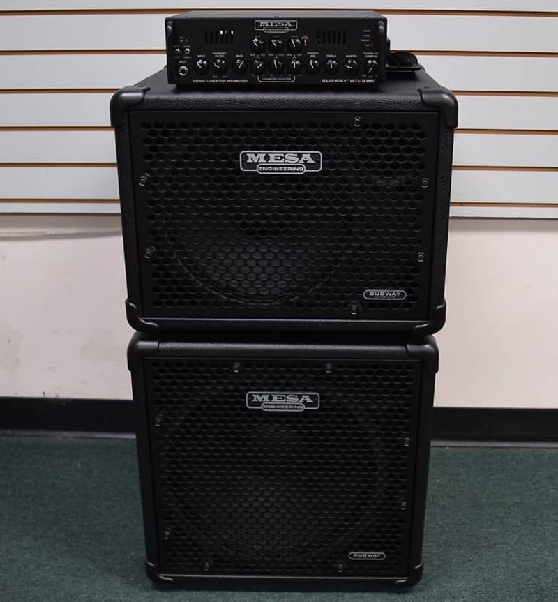 Mesa Boogie WD-800 Amp with Subway 115 and 112 Cabs *On Order, ETA March 2022