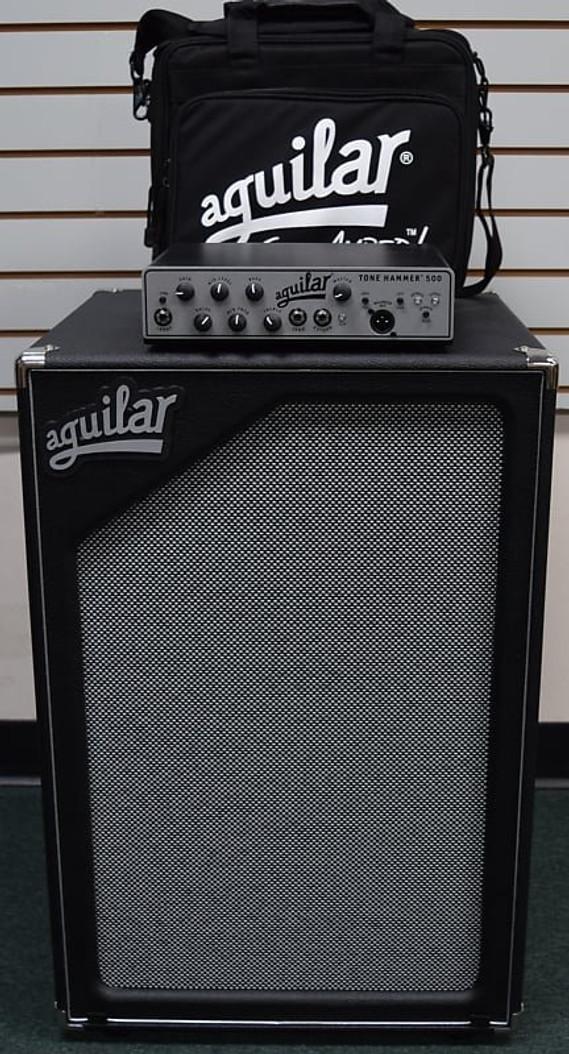 Aguilar Tone Hammer 500 Head / Carry Bag / SL 212 Cab