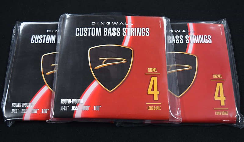 Dingwall Nickel (4-String), 3-Pack Deal=Free Shipping 45-100