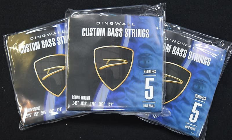 Dingwall Stainless Steel (5-String), 3-PACK Dea l FREE Shipping