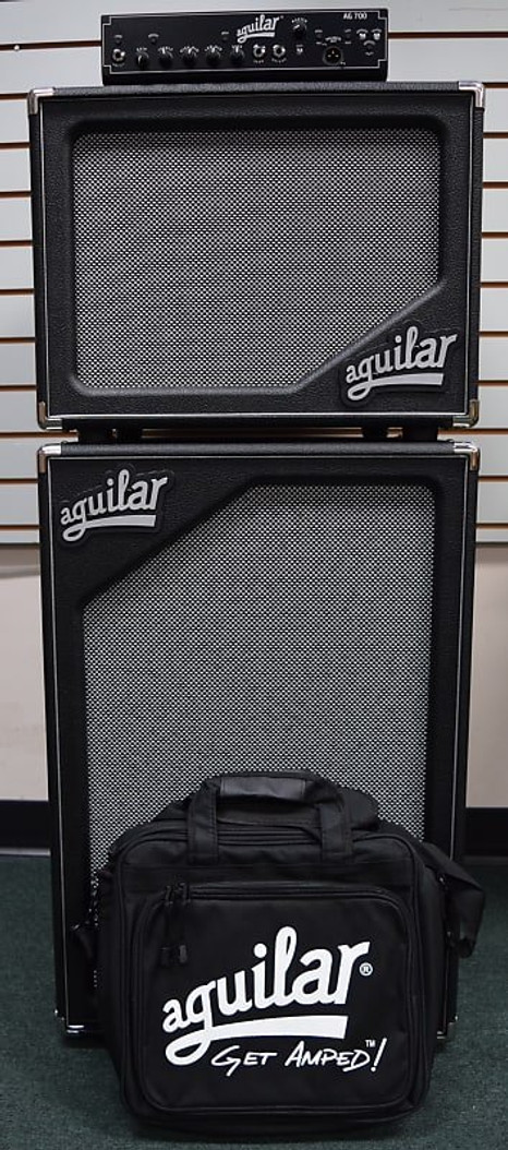 Aguilar AG 700 Bass Head Stack / Carry Bag / SL 212 / 112 Cabs