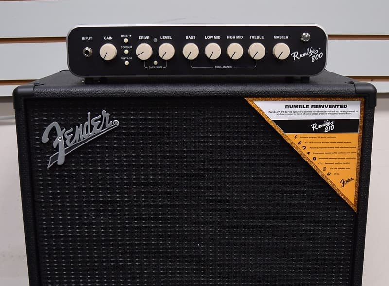 Fender Rumble 800 Bass Head with 210 Cabinet NEW-IN-BOX *NOT Pre-Owned