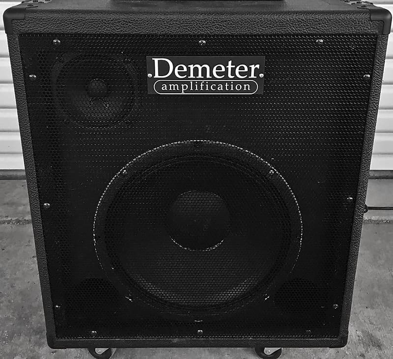 Demeter 1x12 (x5) Neo Flip-Top CAB Black Tolex *NOT Pre-Owned