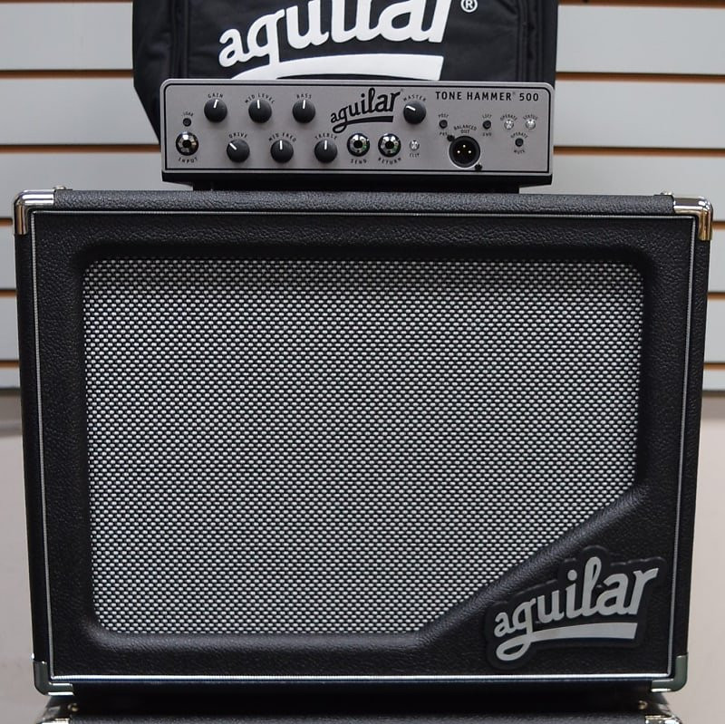 Aguilar STACK: TH-500 Amp + (2) SL 112 Cabs + Amp Carry Bag *Package Deal