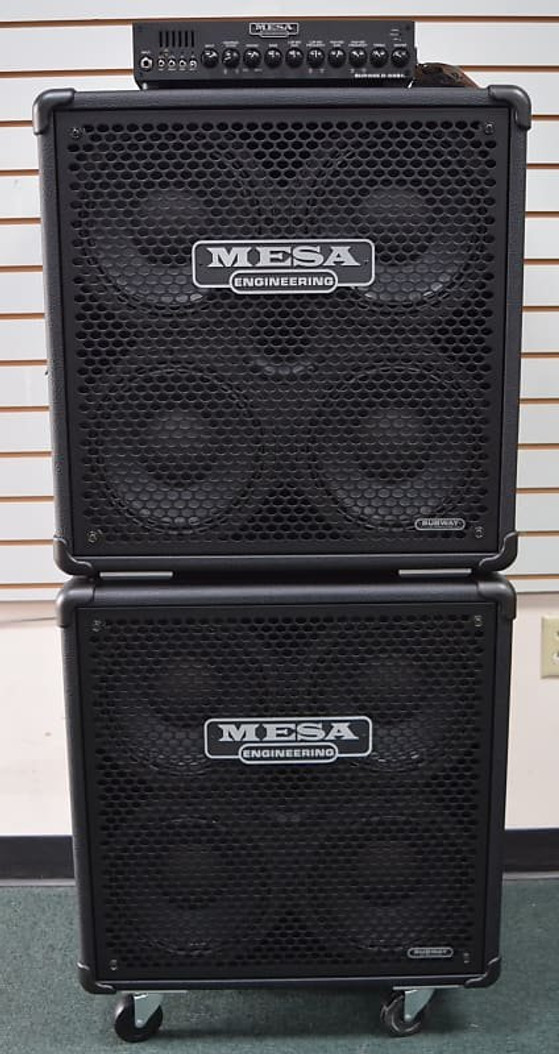 Mesa Boogie Subway Stack D-800+ (PLUS) with 2x 410 Cabs New-In-Box *NOT Pre-Owned