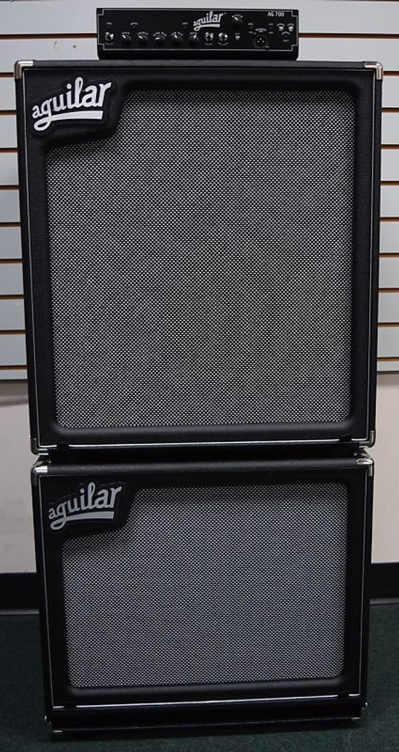 Aguilar AG 700 Stack with SL-115 and SL-410 Cabs, FREE Carry Bag!