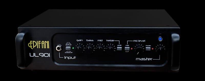 Epifani UL 901, 1000 Watt Bass Amp