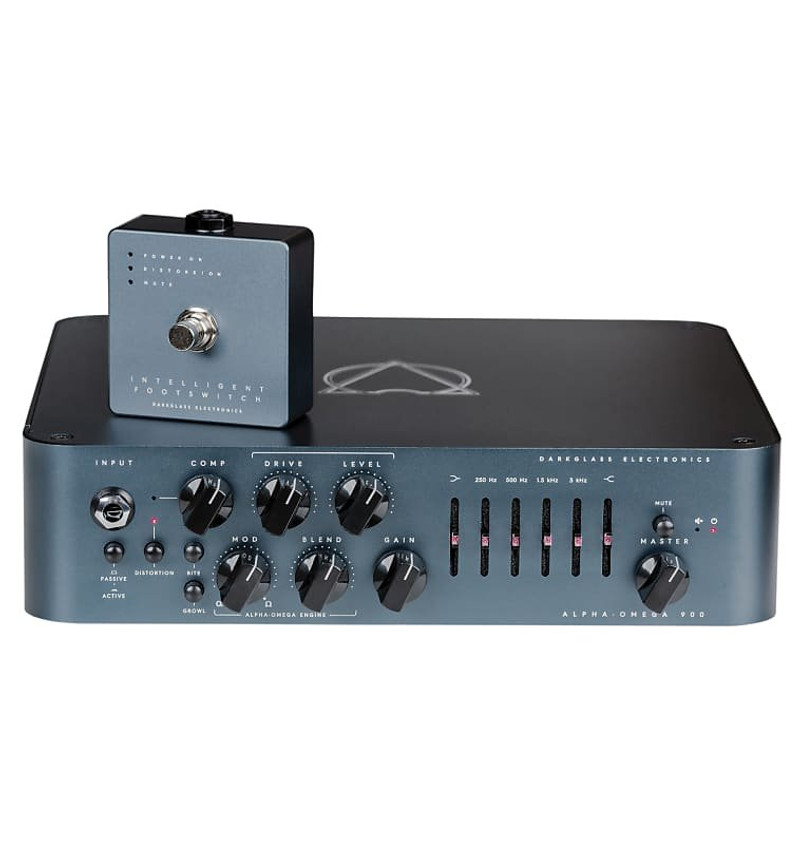 Darkglass Electronics AlphaOmega 900 Bass Amp, with Dual Overdrive/Distortion ***NOT Pre-Owned***