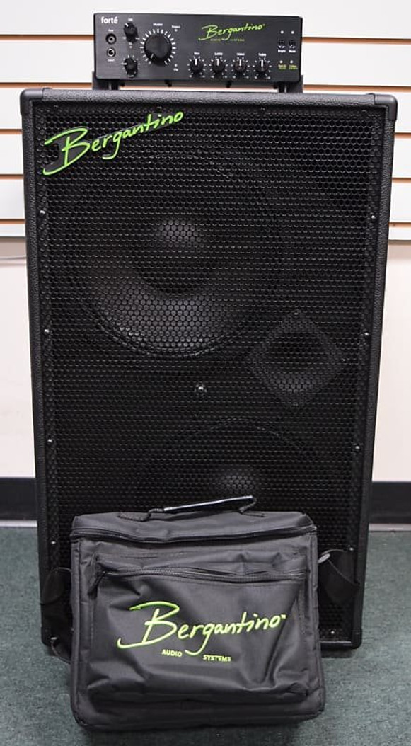 Bergantino Forte Amp with HDN 212 and FREE Carry Bag *NOT Pre-Owned