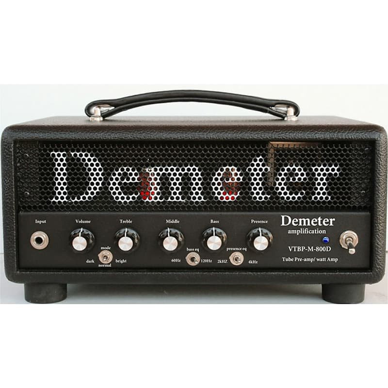 Demeter VTBP-M-800D Bass Amp, Hand Wired (USA) with All Tube Preamp