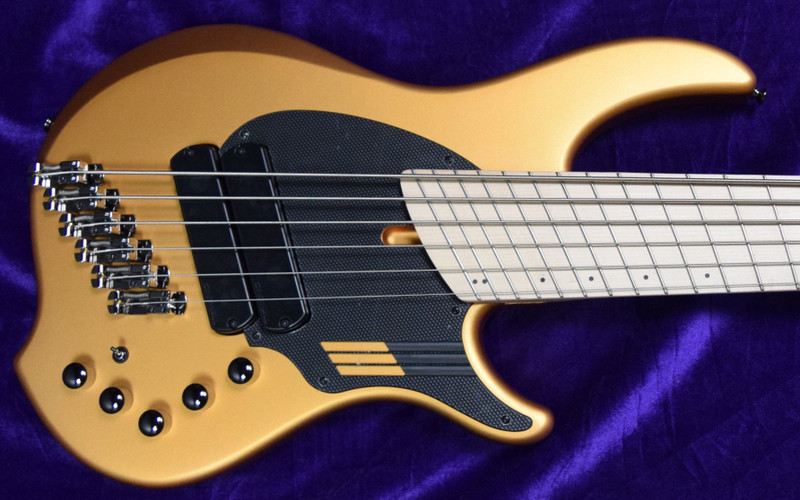 Dingwall NG-2 (6 String), Matte Gold Metallic with Maple Fingerboard *In Stock!
