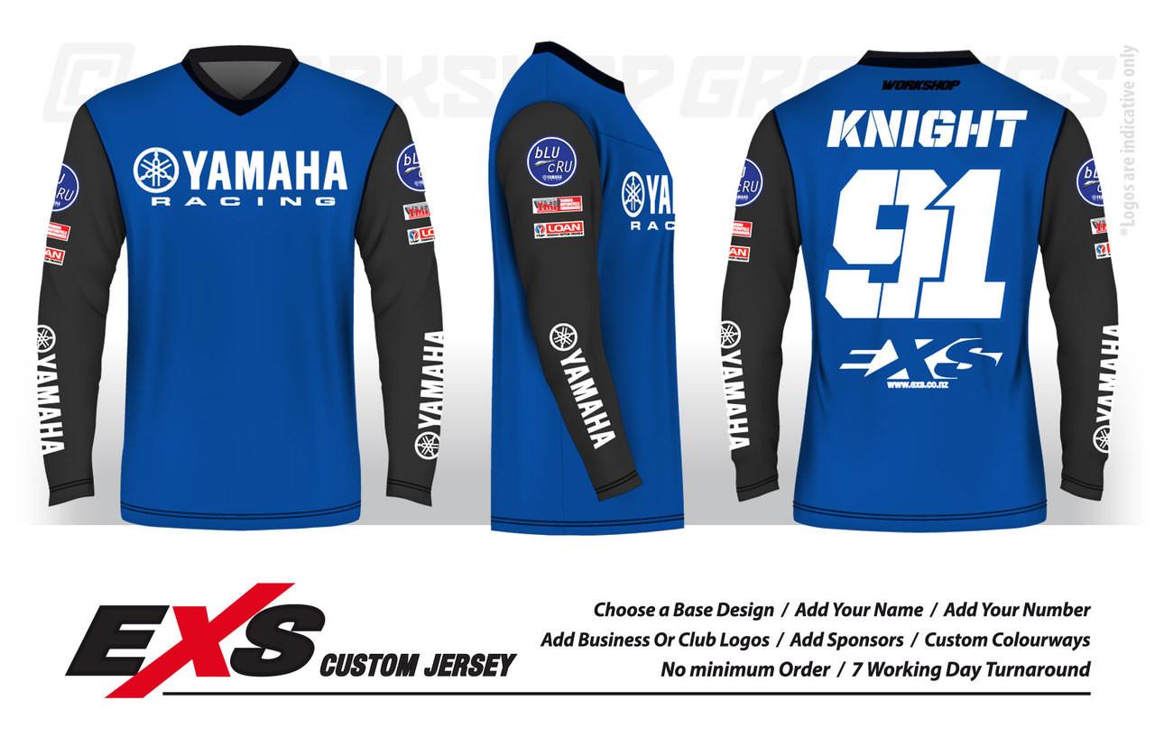 Custom Design Mx Bmx Downhill Jerseys