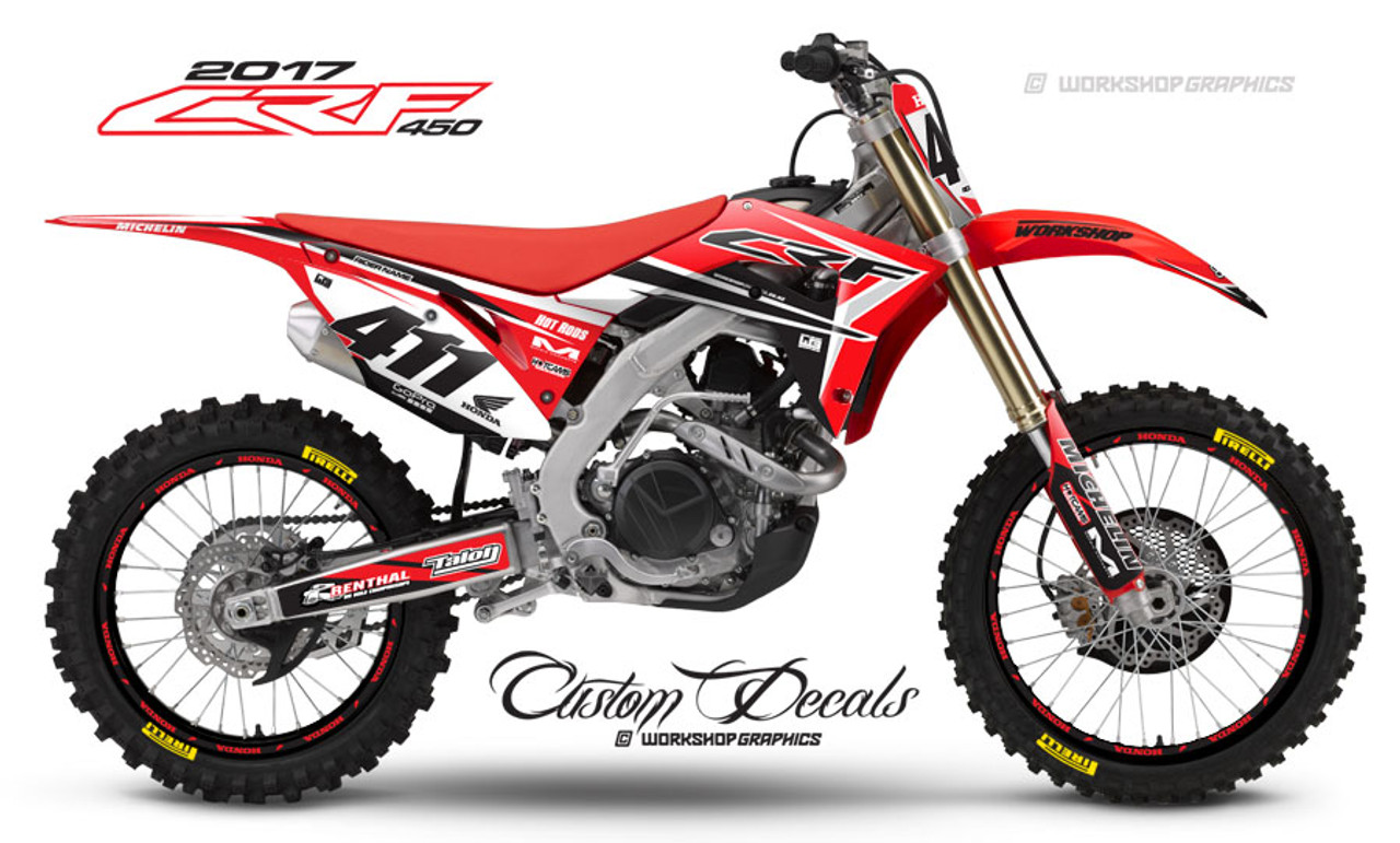 2017 CRF450 Razor - Graphics