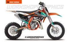 KTM 50 MX Graphics kit