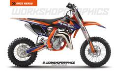 2016 KTM 50 Nova V2 - Graphics Kit