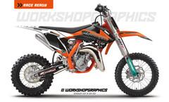 KTM 50 MX Graphics kit