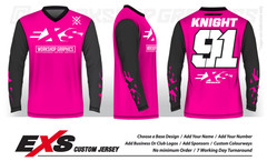 Custom Sublimated MX BMX Jerseys