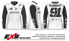 Elite White - EXS Race Jersey