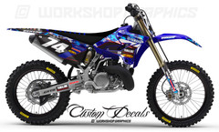 Yamaha YZ MX Graphics Decals and Seat Covers