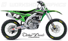 KX450F Graphics Kit